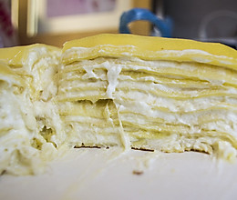 重口味de榴莲千层蛋糕的做法