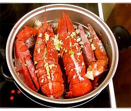 清蒸蒜蓉大龙虾的做法