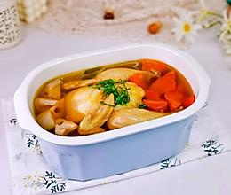 #元宵节美食大赏#胡萝卜莲藕鸡汤的做法