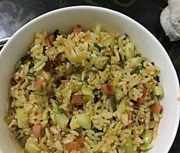 鸡蛋黄炒米饭的做法