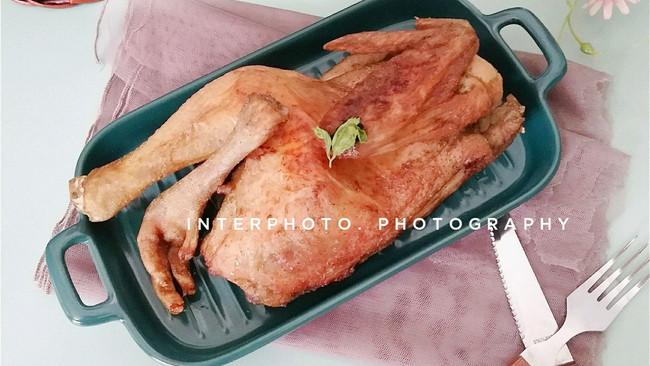 脆皮鸡[空气炸烤箱版]的做法
