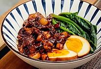 #春日时令,美味尝鲜#经典卤肉饭,肉汁浓郁!的做法