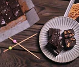 坚果蔓越莓巧克力的做法