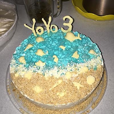 海洋乳酪慕斯  小朋友生日蛋糕的不二之选