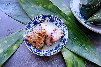 蜜枣粽VS瘦肉粽