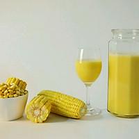 鲜榨玉米汁的做法图解8