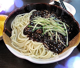 韩国炸酱面的做法