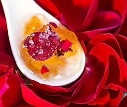 【玫瑰卤子】明媚午后,尝一口红楼里的清甜花馔的做法