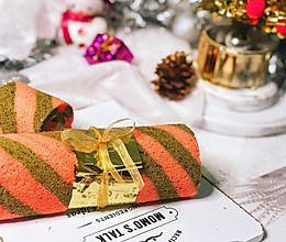 【圣诞双色草莓蛋糕卷】的做法