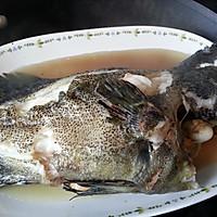 清蒸石斑鱼   ★★★★的做法图解3