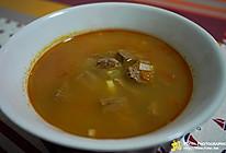 西式牛肉汤的做法