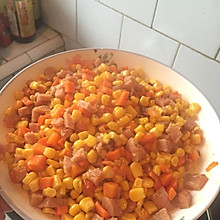 火腿玉米粒