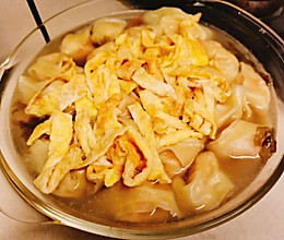 菜肉大馄饨-内附详细包法~馄饨云吞抄手水饺控看过来的做法