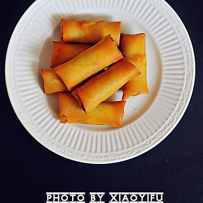 春节家宴必备菜--黄金炸春卷