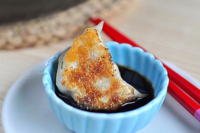 藕丁猪肉煎饺