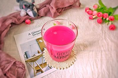 粉红佳人|自制柠檬汁饮品