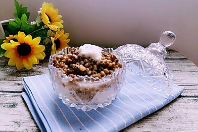 酸奶绿豆沙冰~夏季低脂解暑甜品