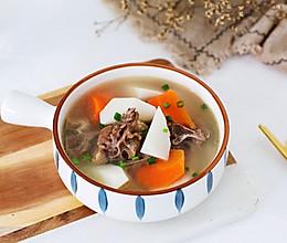 羊蝎子胡萝卜山药汤的做法