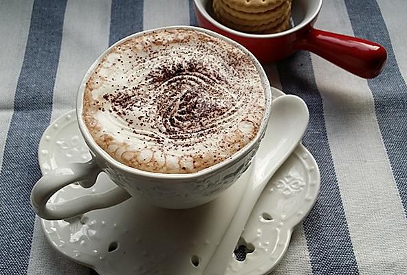热巧克力摩卡#一起吃西餐#的做法