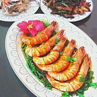 红烧天然野生虾的做法图解7