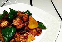 回锅肉(土豆青椒配菜)的做法