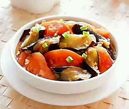 西红柿烧茄子的做法