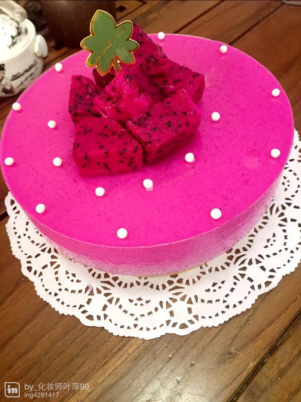 娇艳欲滴慕斯蛋糕的做法