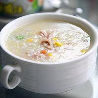 金枪鱼杂蔬三米粥