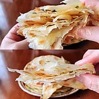 这样做葱油饼,柔软劲道多层的做法图解7