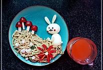 小白兔采蘑菇的做法