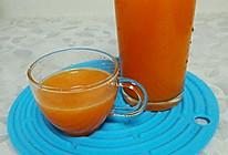 胡萝卜香梨汁的做法