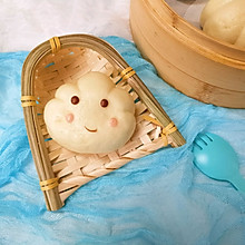 蒸的云朵宝宝-老酸奶馒头