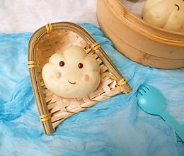 蒸的云朵宝宝-老酸奶馒头的做法