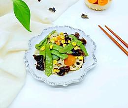 荷塘月色小炒#每道菜都是一台食光机#的做法