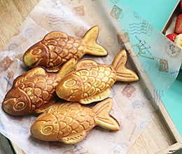 豆沙鲷鱼烧的做法