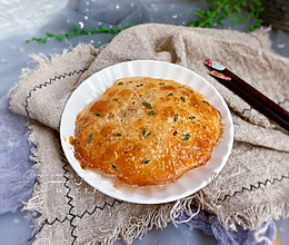 饺子皮葱油饼【宝宝最爱早餐】的做法