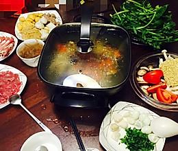 火锅汤底(清汤)的做法