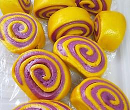 紫薯南瓜刀切馒头的做法
