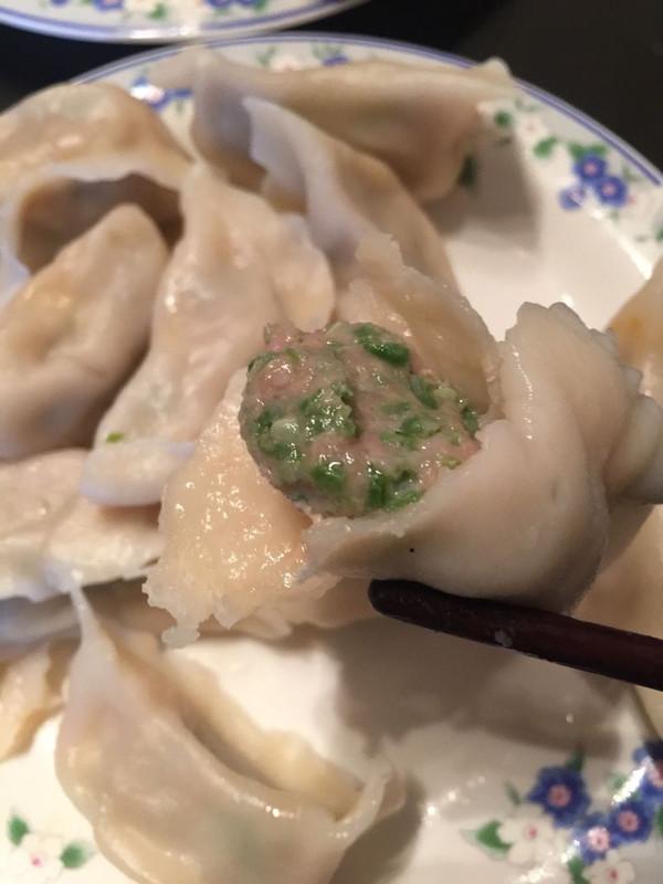 猪肉馅豇豆饺子的做法