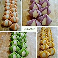超级彩色饺子。。的做法图解7