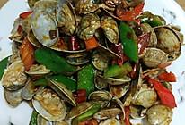 豆瓣辣炒蛤的做法