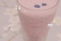 蓝莓优酪乳的做法