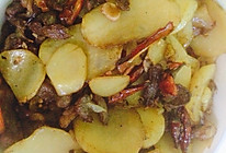土豆炒肉丝的做法