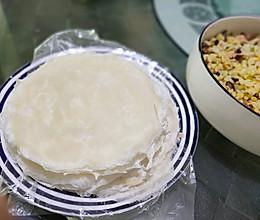 自制传统春卷皮-平底锅版的做法