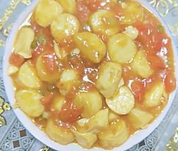 西红柿之鸡蛋豆腐的做法