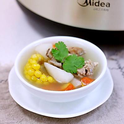 山药玉米排骨汤(炖)