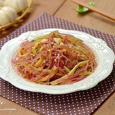 【凉拌血珊瑚草】最简单的夏季清凉菜式