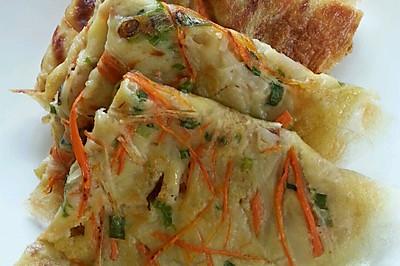 土豆胡萝卜丝饼——平底锅版