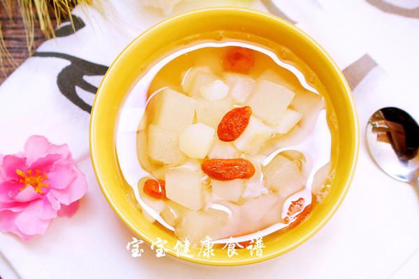 马蹄甜汤  宝宝健康食谱的做法