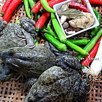 春节筵席上的下酒菜干锅牛蛙的做法图解1
